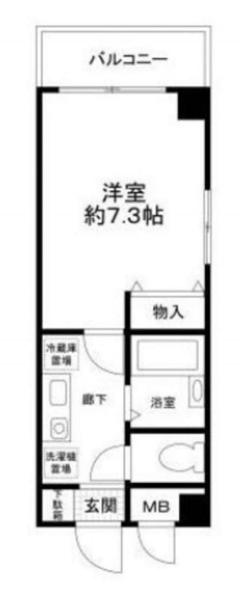エクセレント新橋 (間取)