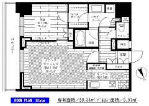 グランドコンシェルジュ六本木(間取)