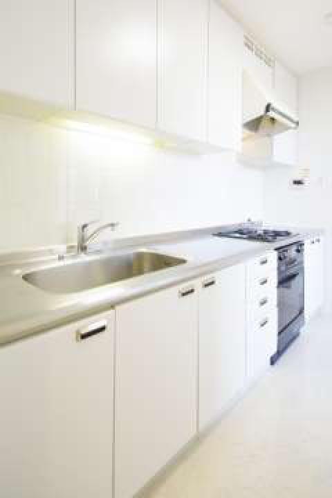 お料理の幅を広げるガスシステムキッチン キッチンワークも楽しめます。