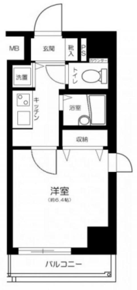 OLIO芝浦(間取)